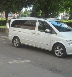 Пассажирские перевозки на Mercedes Viano