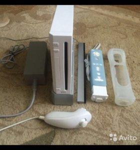 Игровая консоль Nintendo Wii белая