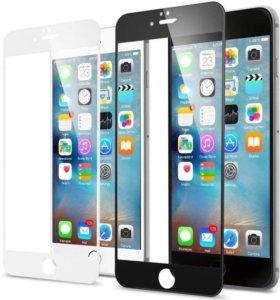 Белое стекло iPhone 6