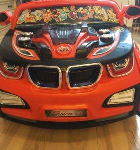 Машинка детская на аккумуляторе Бмв кабриолет
