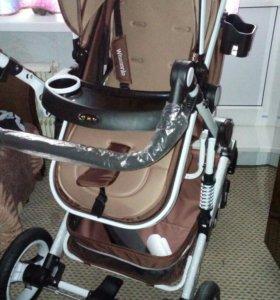 Wisesonle детская коляска 2 в 1