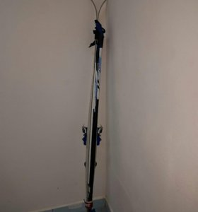 Лыжи скреплением и палками Atemi Sport