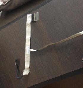 Шлейф матрицы ноутбука с камерой