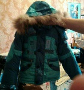 Зимняя куртка 98 размера