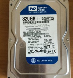 Жесткий диск Western Digital Blue 320 GB 3.5