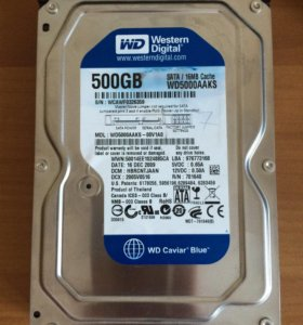 Жесткий диск Western Digital Blue 500 GB 3.5""