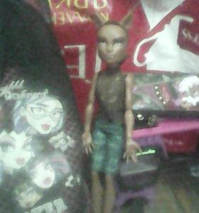 Рюкзак и кукла монстр хай