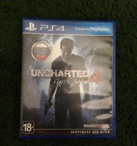 Диск на PS4 Uncharted 4