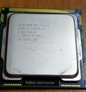 Процессор Intel Core i5-660 (+ кулер)