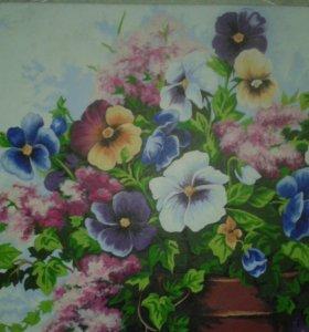 Картина масляными красками размером 40*50