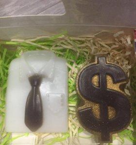 Успешному мужчине подарочный набор из мыла