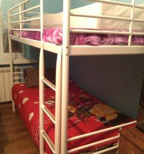 Детская двух-ярустная кровать