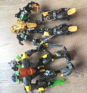 Lego bionicle роботы
