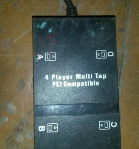 4 Player multi tap ps2 compatible