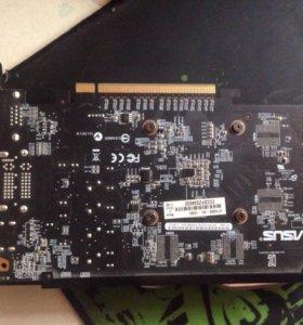 Видео карта Asus GTX 650 1gb
