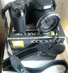 Фотоаппарат Nikon coolpix l340(цифровой)