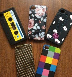 Чехлы на 4 айфон