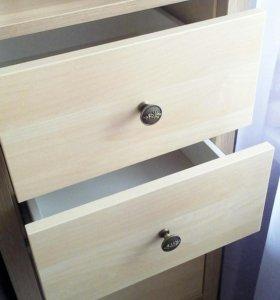 Выдвижные ящики для стеллажа Ikea, вставка