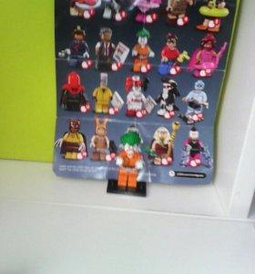 Лего Бэтмен минифигурка