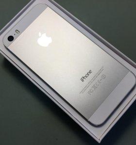iPhone 5s 16g silver идеал, гарантия
