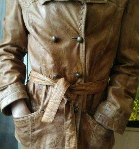 Куртка.Кожаная женская