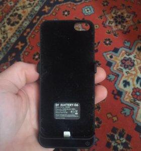 Чехол зарядка на iPhone 5s