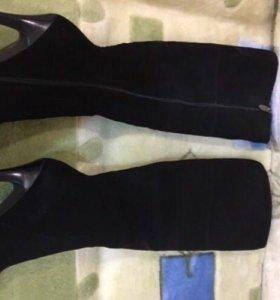 Зимние новые сапоги ботфорты 36 размер