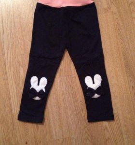 Новые штанишки-лосины на 3-4 года