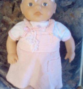 Кукла пупс новая