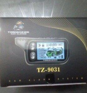 Сигнализация с автозапуском Tomahawk TZ 9031