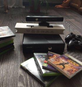 Xbox Фрибут + Kinect (50 игр)