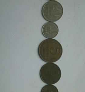 Набор Советских монет , 7 штук