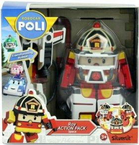 Трансформер Рой из мультсериала Robocar Poli.
