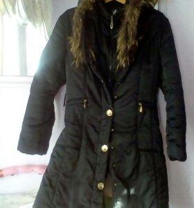 Куртка длинная тёплая
