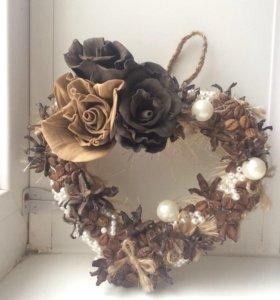 Декоративное сердце на стену