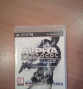 Продам игру на ps3 alpha protocol