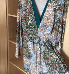 Блузка для беременных/кормящих. Размер 52