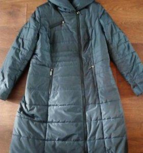 Пальто весеннее, размер 52