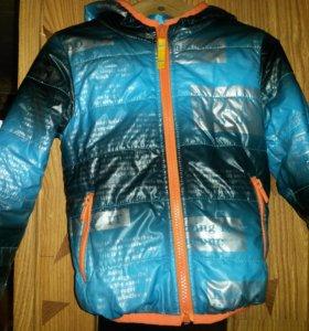 Демисезонная куртка для мальчика , рост 104 -110см