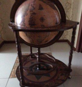 Большой напольный Глобус-Бар Zoffoli
