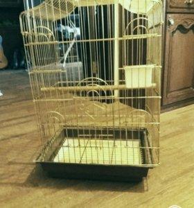 Клетка для птиц ( попугая или шиншил )