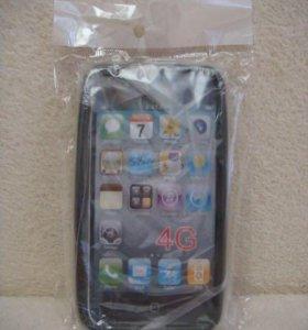 Новый в упаковке чехол-бампер для iPhone 4