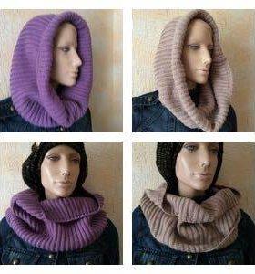 Новый шарф - снуд (2 цвета)