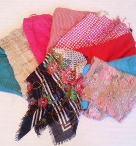 шарфы,платки,палантины