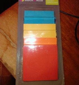 Бумага для записей с клейким краем