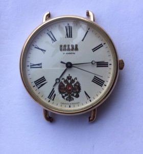Часы наручные позолоченные.