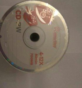 Диски CD-RW чистые болванки