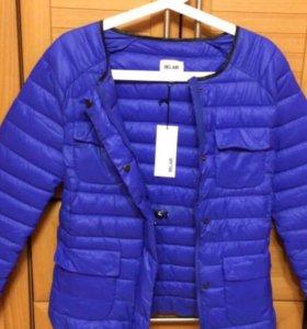 Новая куртка наполнитель пух