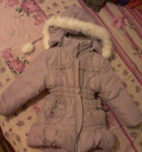 Куртка зима-холодная весна на 3-4,6 лет