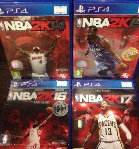 NBA 2K ⛹🏿PS4